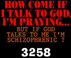 god talk to me
